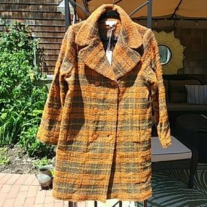 Plaid fall/winter jacket